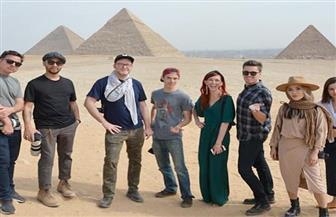أشهر 10 مدونين أمريكيين يغادرون القاهرة بعد زيارتهم للمعالم السياحية| صور