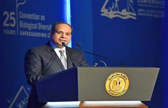 """""""مستقبل وطن"""" يشيد بكلمة الرئيس السيسي في مؤتمر التنوع البيولوجي"""