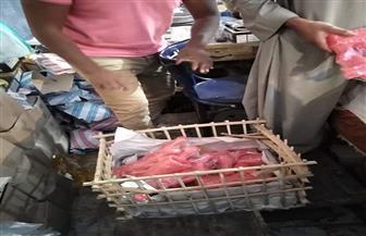 إعدام 40 كيلو حلوى مولد فاسدة بالغردقة |صور