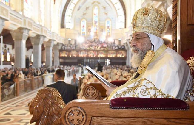 البابا تواضروس تدشين الكاتدرائية حدث تاريخى وحرصنا أن توثق الأيقونات للـ عاما الماضية