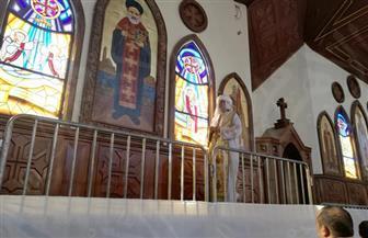 أساقفة ومطارنة الكنيسة يدشنون أيقونات الكاتدرائية وسط زغاريد وفرحة الأقباط | صور