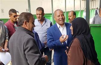 محافظة القاهرة تبدأ تسكين الباعة في سوق المنهل شرق مدينة نصر | صور