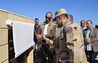 وزير الري ومحافظ البحر الأحمر يفتتحان بحيرة فالق الوعر بالغردقة | صور