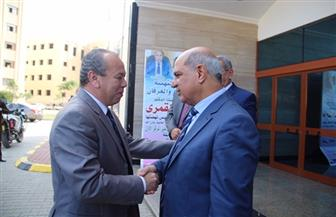محافظ كفرالشيخ ومدير الأمن يهنئان رئيس الجامعة لفوزها بالمركز الأول في مسابقة أفضل جامعة مصرية