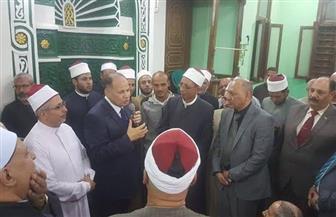 الفيوم تحتفل بالمولد النبوي الشريف بحضور المحافظ ورئيس المنطقة الأزهرية|صور