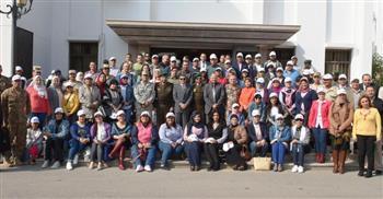 هيئة قناة السويس تستقبل وفدا من كلية الدفاع الوطني بأكاديمية ناصر العسكرية