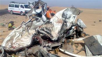 إصابة 9 أشخاص في حادث تصادم غرب الإسكندرية