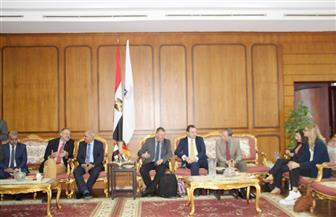 جامعة كفر الشيخ تعقد مؤتمر تعزيز التعاون بين مصر وألمانيا فى مجال الأمن الحيوي | صور