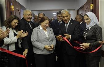الجامعة الأمريكية تحتفل بافتتاح مركز التطوير المهني بجامعة مدينة السادات   صور