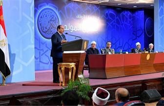 الرئيس السيسي: بناء الإنسان وتنوير العقول المحور الأساسي لتقدم وتنمية المجتمعات