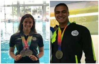لاعبا هليوليدو للسباحة يحققان ٣ برونزيات في بطولة برشلونة