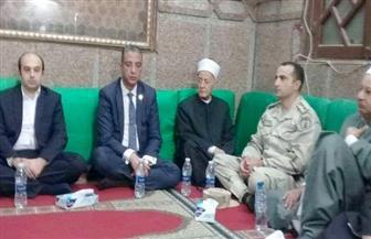 محافظ سوهاج يشهد الاحتفال بذكرى المولد النبوي بمسجد العارف بالله
