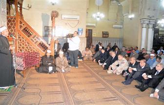 محافظ المنيا يشهد احتفال مديرية الأوقاف بالمولد النبوي الشريف   صور