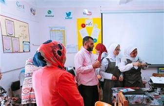 """""""مياه الفيوم"""" تعقد ندوة لتوعية طلاب المدارس بترشيد استهلاك المياه   صور"""