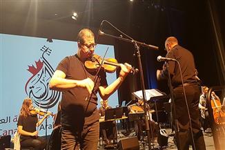 محمود سرور وفؤاد زبادي يتألقان في مهرجان الموسيقى والفنون العربية بكندا | صور