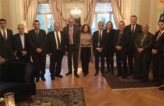 المبعوث النرويجي للسلام يشيد بجهود مصر في تحقيق المصالحة الفلسطينية