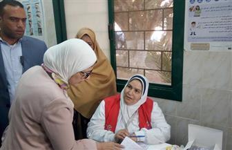 وزيرة الصحة تتفقد الوحدة الصحية بيهمو بالفيوم لمتابعة مباردة الرئيس |صور