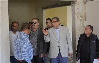 وزير القوى العاملة يتفقد مشروع الجامعة التكنولوجية بجنوب بمدينة نصر | صور