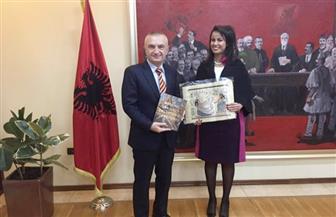 """الرئيس الألباني لـ""""عازر"""": أتطلع لزيارة مصر.. ونستفيد من خبراتها في مكافحة الإرهاب"""