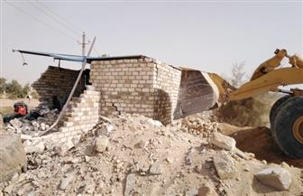 حملة موسعة لإزالة الإشغالات والتعديات بمدينة أسيوط الجديدة | صور