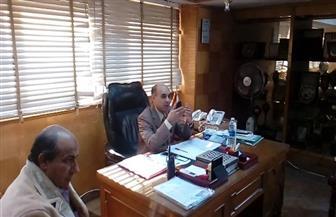 رئيس مدينة المحلة يطالب الإدارات بتقارير عن المشكلات والمعوقات وآليات الحلول | صور