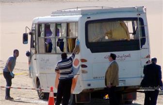 """مجلس الوزراء: معاملة ضحايا حادث """"الأنبا صمويل"""" بالمنيا معاملة الشهداء و100 ألف جنيه لأسرة كل متوفى"""
