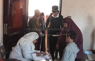 الكشف على 541 حالة بقافلة لوزارة الداخلية بقرية دميرة بالدقهلية