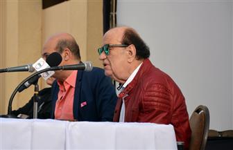 """نهال عنبر توضح لـ""""بوابة الأهرام"""" تفاصيل دفن جثمان الفنان حسن حسني إلى مثواه الأخير"""