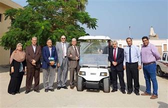تصنيع أول سيارة كهربائية بالكامل في كلية الهندسة جامعة طنطا