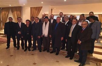 سفير مصر بالمغرب يحتفي بنجوم مهرجان الرباط السينمائي | صور