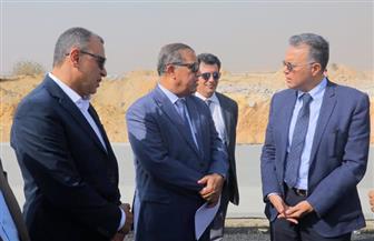 وزير النقل يتابع أعمال إنشاء طريق داعم داخلي للطريق الدائري بتكلفة 150 مليون جنيه | صور
