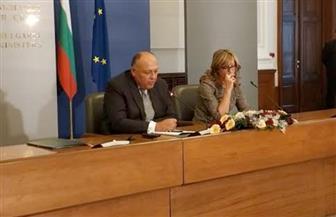 سامح شكري: إنشاء لجنة مشتركة للتعاون مع بلغاريا لإرساء دعائم جديدة للعلاقات