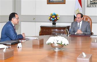 الرئيسي السيسي يجتمع برئيس الوزراء ووزير الاتصالات لبحث المشروعات الرقمية وخطة التطوير