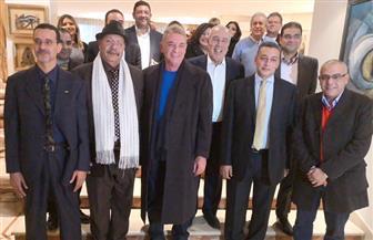 سفير مصر بالمغرب يدعو لدعم التواصل الثقافي والإنتاج الفني المشترك بين البلدين| صور