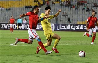 التعادل السلبي يحسم الشوط الأول من مباراة الوصل والأهلي