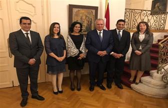 العرابي يلتقي مجموعة الصداقة البرلمانية مع مصر بالجمعية الوطنية بصربيا |صور