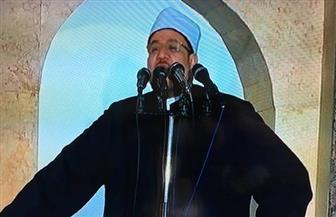 وزير الأوقاف يلقي خطبة الجمعة في مسجد الروضة ببئر العبد