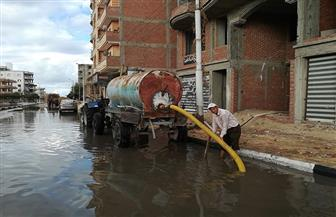 الأمطار تغرق الشوارع  كفرالشيخ.. وسوء الأحوال الجوية توقف عمليات الصيد في البحر المتوسط والبرلس | صور