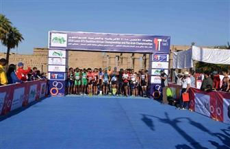 ننشر نتائج البطولة الدولية للترايثلون بالأقصر | فيديو وصور