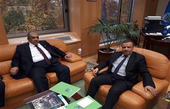"""""""أبوستيت"""" يلتقي وزيري الزراعة في إسبانيا وتونس خلال مشاركته باجتماعات المجلس الدولي للزيتون   صور"""