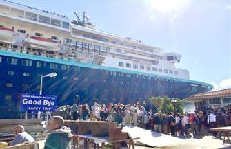 ميناء بورسعيد السياحي يستقبل 1660 سائحا من اليونان| صور