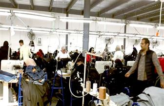 نائب محافظ بورسعيد يتفقد مشروع الـ 58 مصنعا | صور