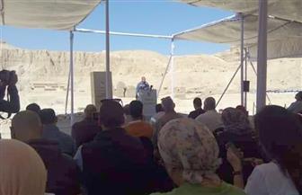 وزير الآثار: اكتشفنا مقبرتين كاملتين بالأقصر لكاتب وكاهن من الأسرة الـ19