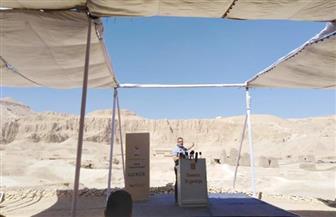 """وزير الآثار من الأقصر: معدلات الكشف الأثري ارتفعت بشكل غير مسبوق في مقبرة """"الراعمسة"""""""
