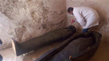 ننشر تفاصيل اكتشاف 1000 تمثال من الأوشابتي و5 أقنعة خشبية بالأقصر| صور