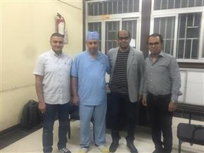 فريق طبي بجامعة أسيوط ينجح في استئصال ورم سرطاني بالكلى
