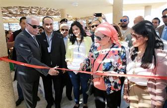 وزيرة السياحة تشيد بأعمال تطوير محمية رأس محمد