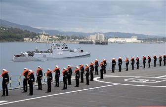 طلبة الكلية البحرية وشباب البرنامج الرئاسي يشهدون تدريبا عسكريا بين مصر وقبرص واليونان