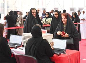 قرينة ملك البحرين تدلي بصوتها في الانتخابات النيابية والبلدية
