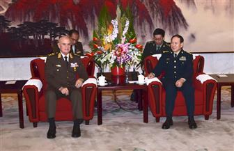 تفاصيل زيارة رئيس الأركان للصين وبحث التعاون العسكري بين البلدين